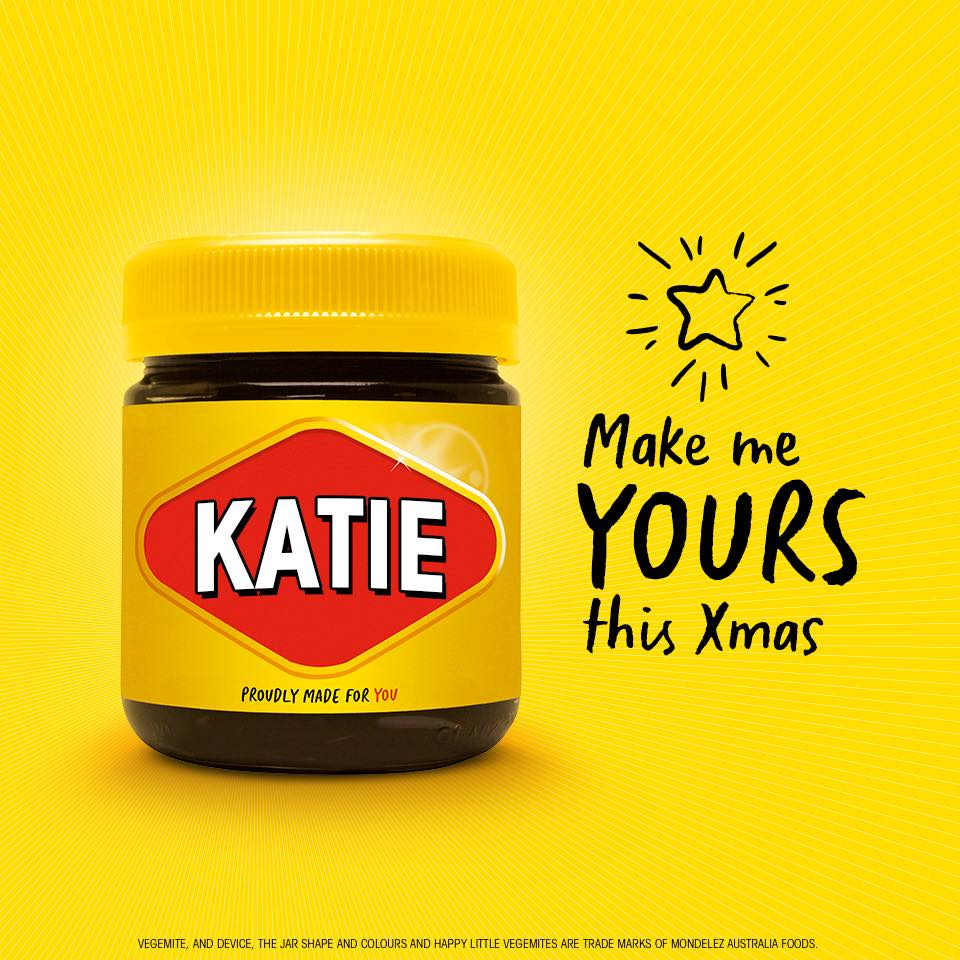 """""""Not everyone likes Vegemite, but colour is universally pleasing"""""""