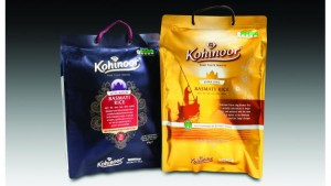 The award winning design that Flex Films came up with for the Kohinoor Anti-Slip Bag.