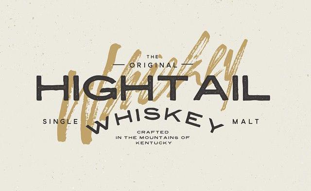 Hightail whiskey logo