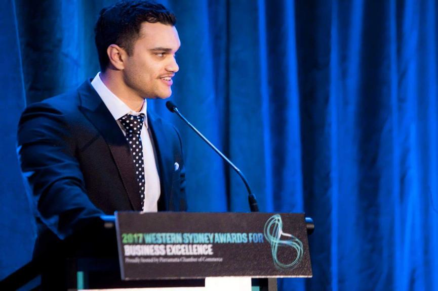 Matt Ellis wins Young Entrepreneur Award 2017 WSABE image