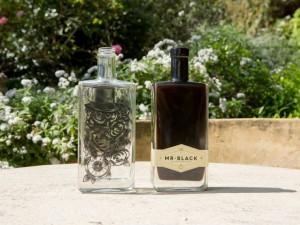 Mr Black bottle design