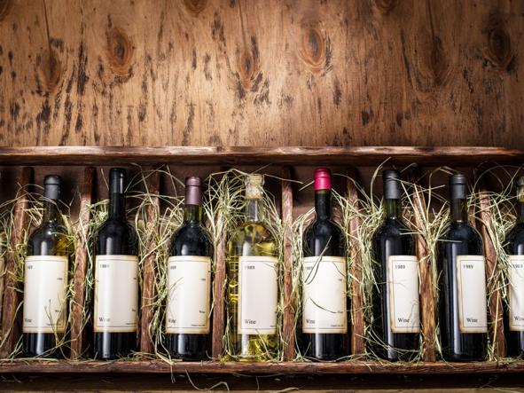 Wine packaging image