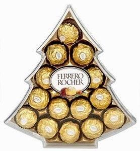 Ferrero Rocher Christmas tree shaped box image