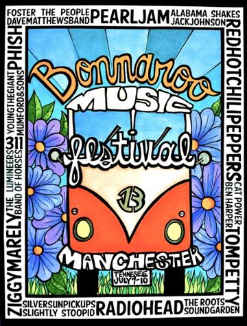music festival poster image
