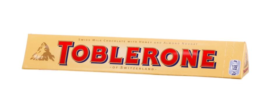 Toblerone packaging image